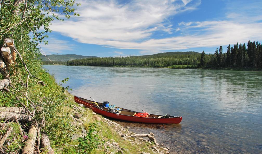 Image Du chilkoot trail à la yukon river