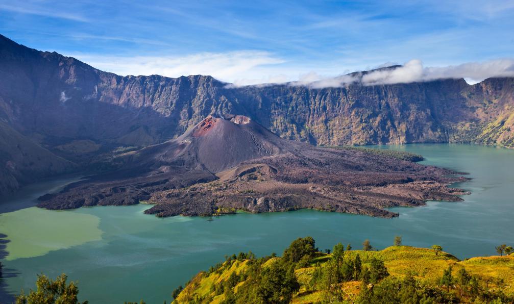 Image Volcans d'indonésie