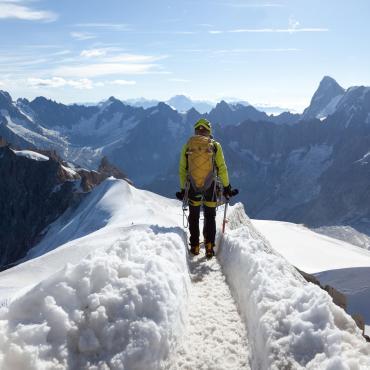 La haute route du Mont-Blanc
