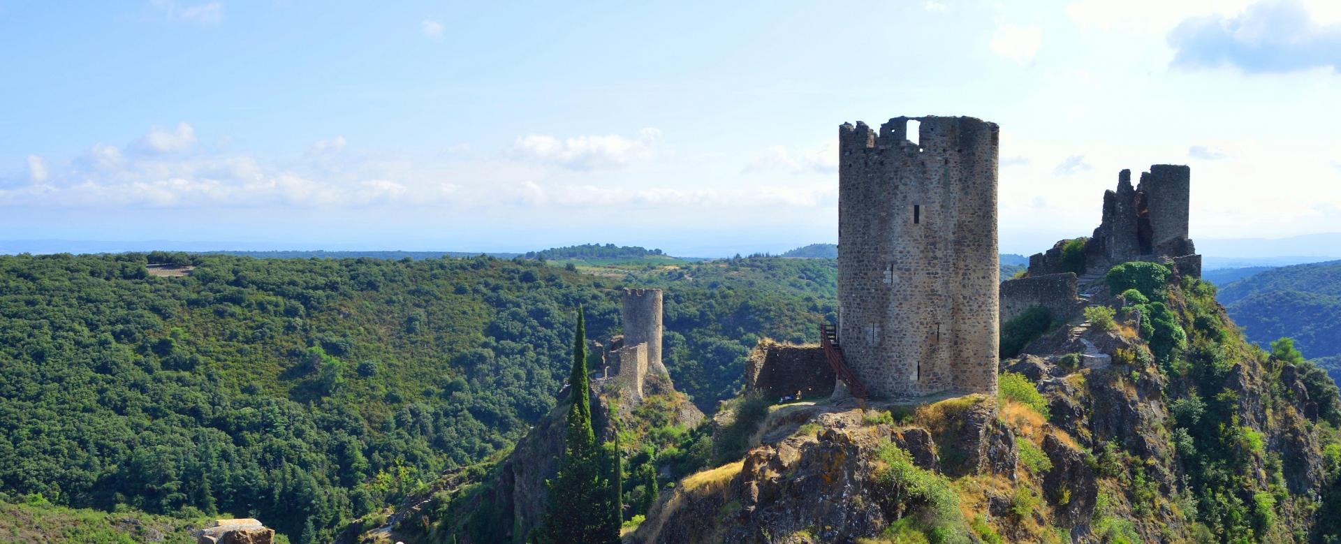 Voyage à pied : Châteaux cathares