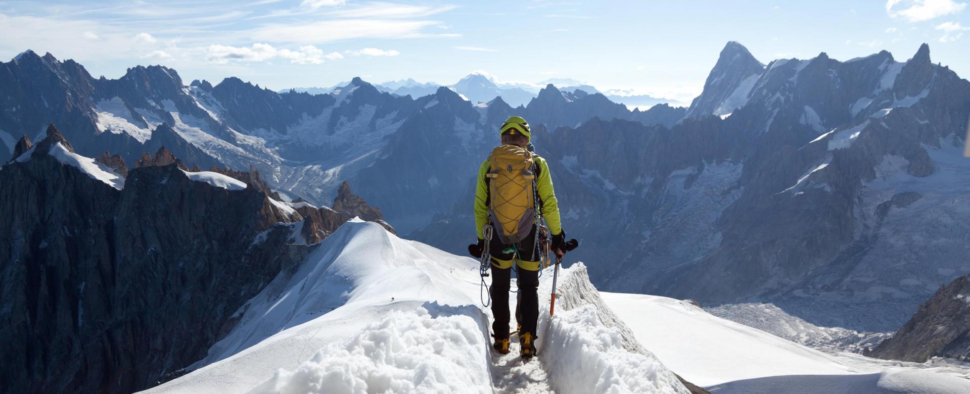 Voyage à pied France : La haute route du mont-blanc