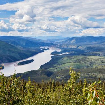 Yukon: du parc de Kluane au Tombstone