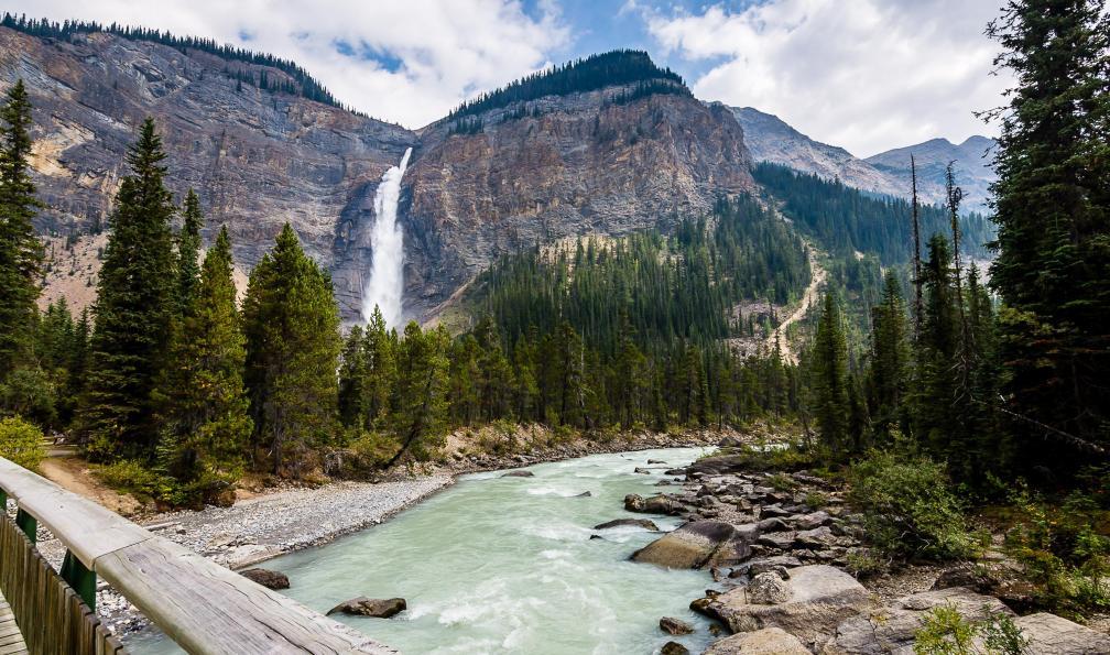 Image De l'île de vancouver aux rocheuses canadiennes