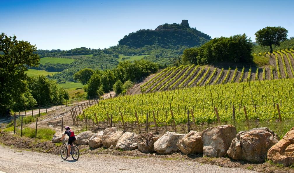 Image La toscane à vélo