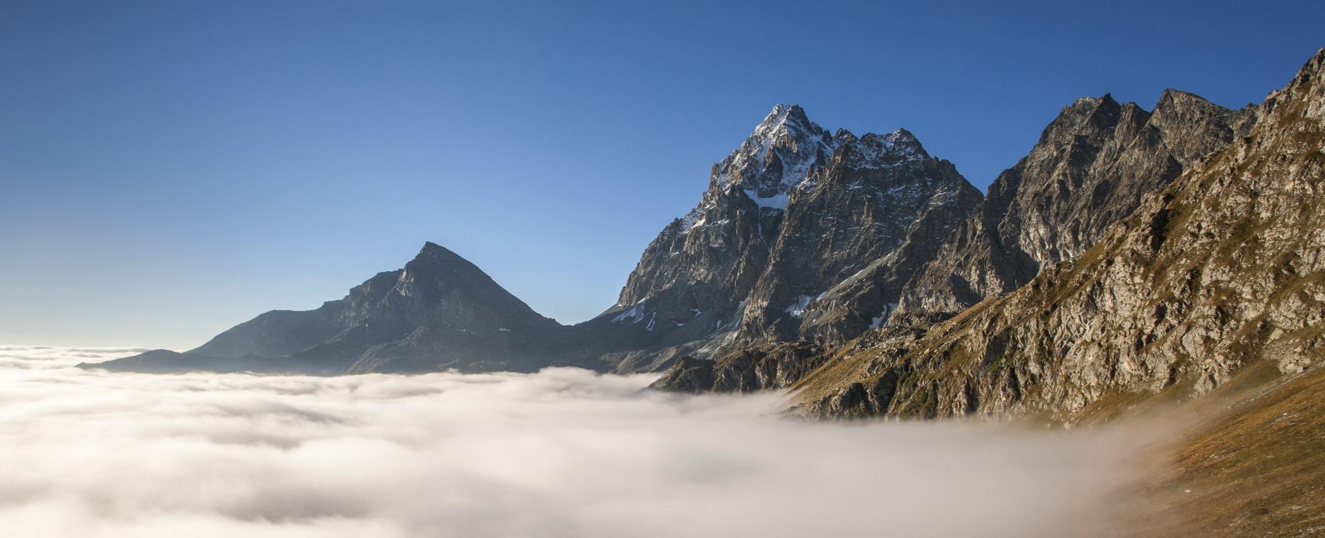 Voyage à pied : Le tour du viso 6 jours