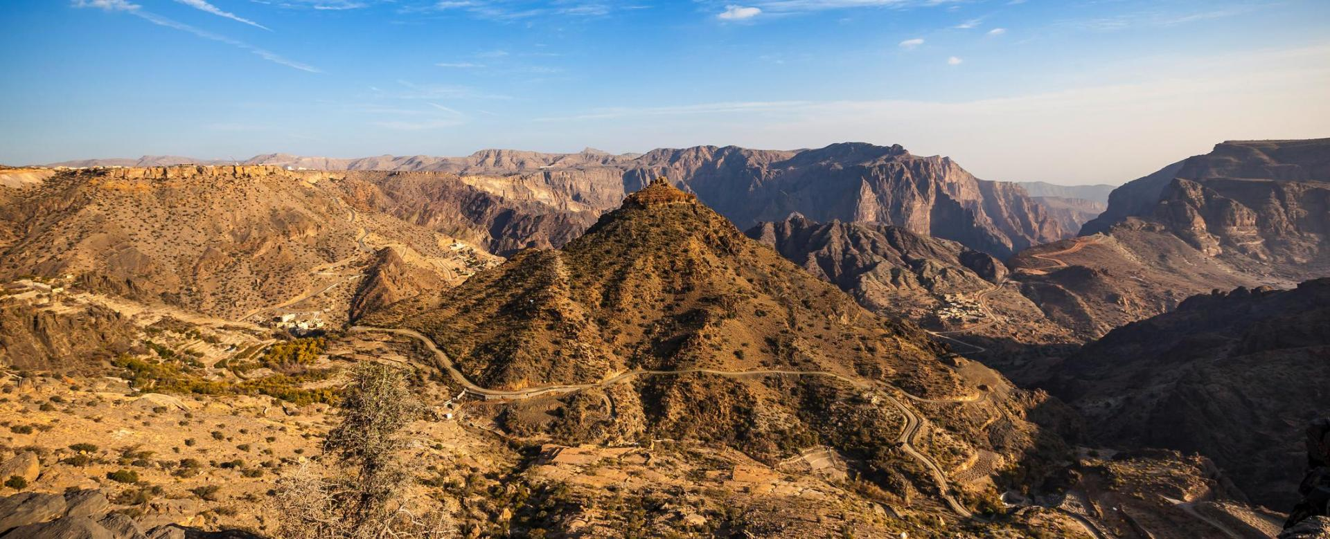 Voyage à pied : Dunes, djebels et wadis d'oman