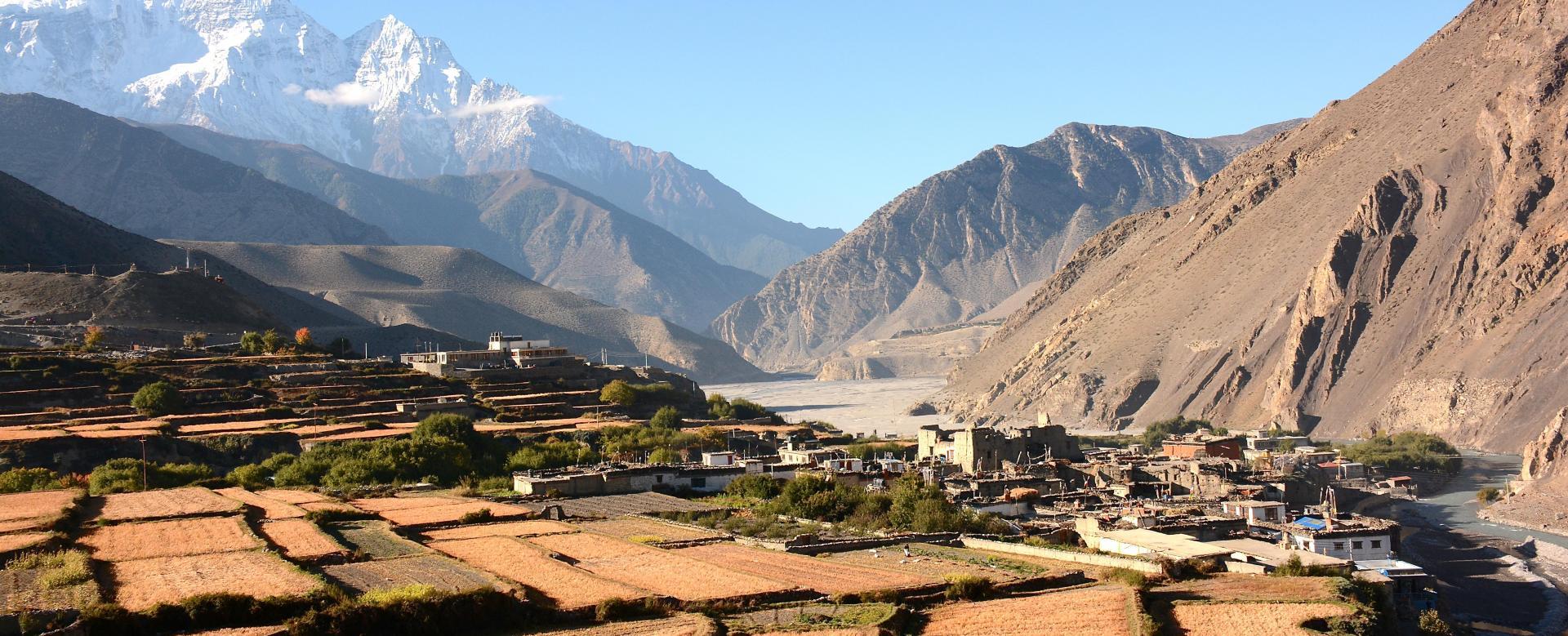 Voyage à pied Nepal : Royaume du mustang et lo manthang