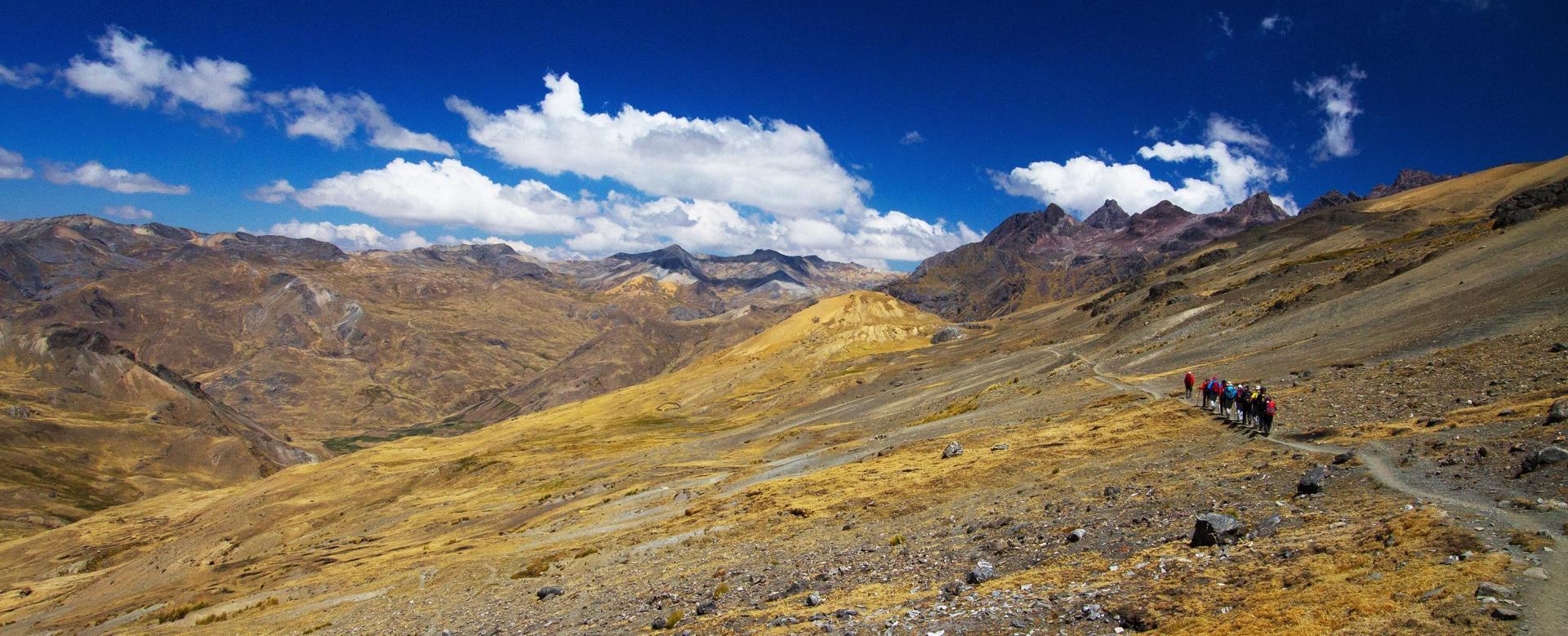 Voyage à pied Pérou : De l'urubamba à vilcanota