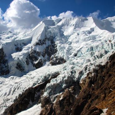 Cordillère Royale et Illimani (6439 m)