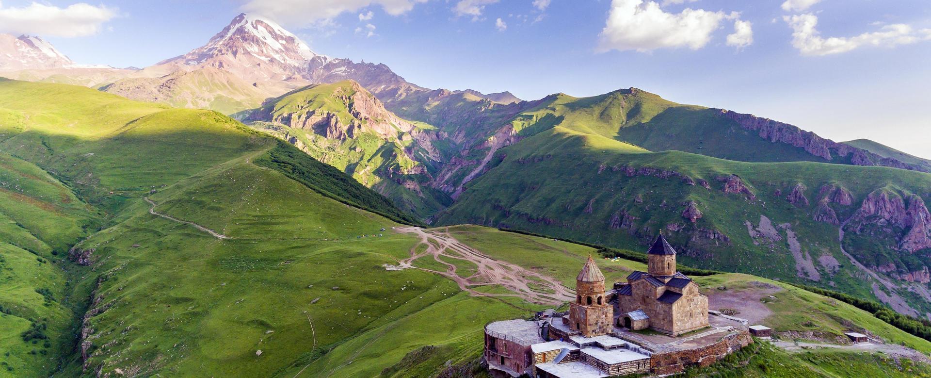 Voyage à pied : Citadelles du caucase