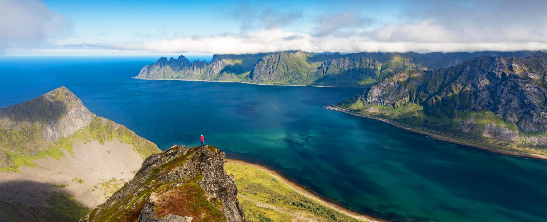 Voyage à pied Norvège : Trek sur senja, kvaløya et alpes de lyngen