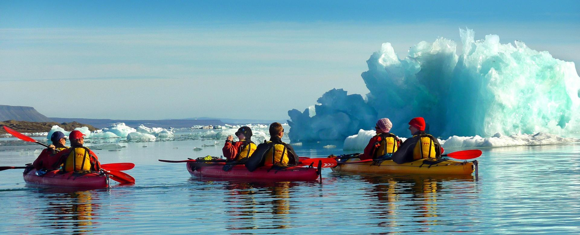 Voyage à la neige Norvège : Visages du spitzberg