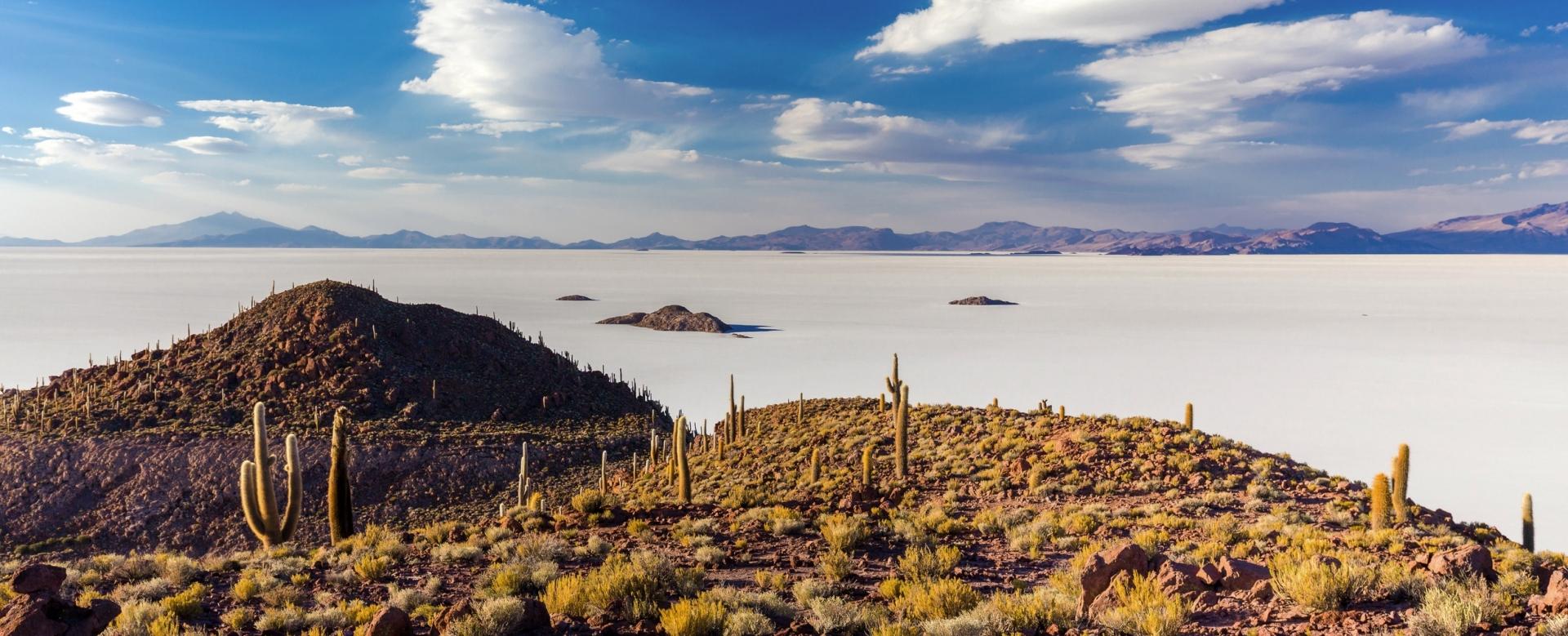 Voyage à pied : L\'altiplano sans frontières