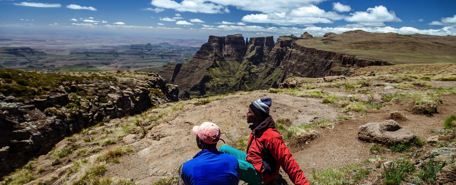 Voyage à pied : Afrique du Sud : Trek des monts du dragon au bush africain