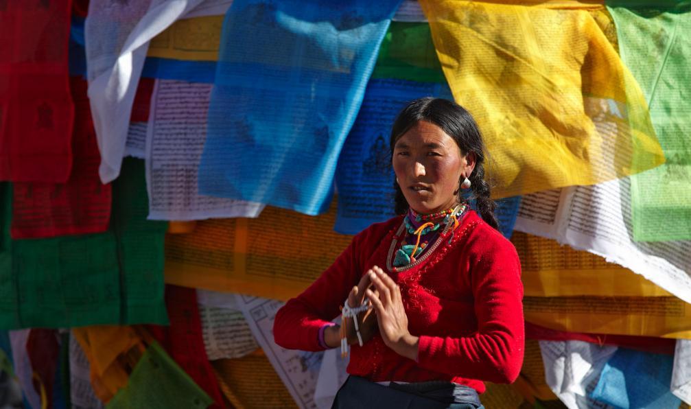 Image Le tibet à vélo