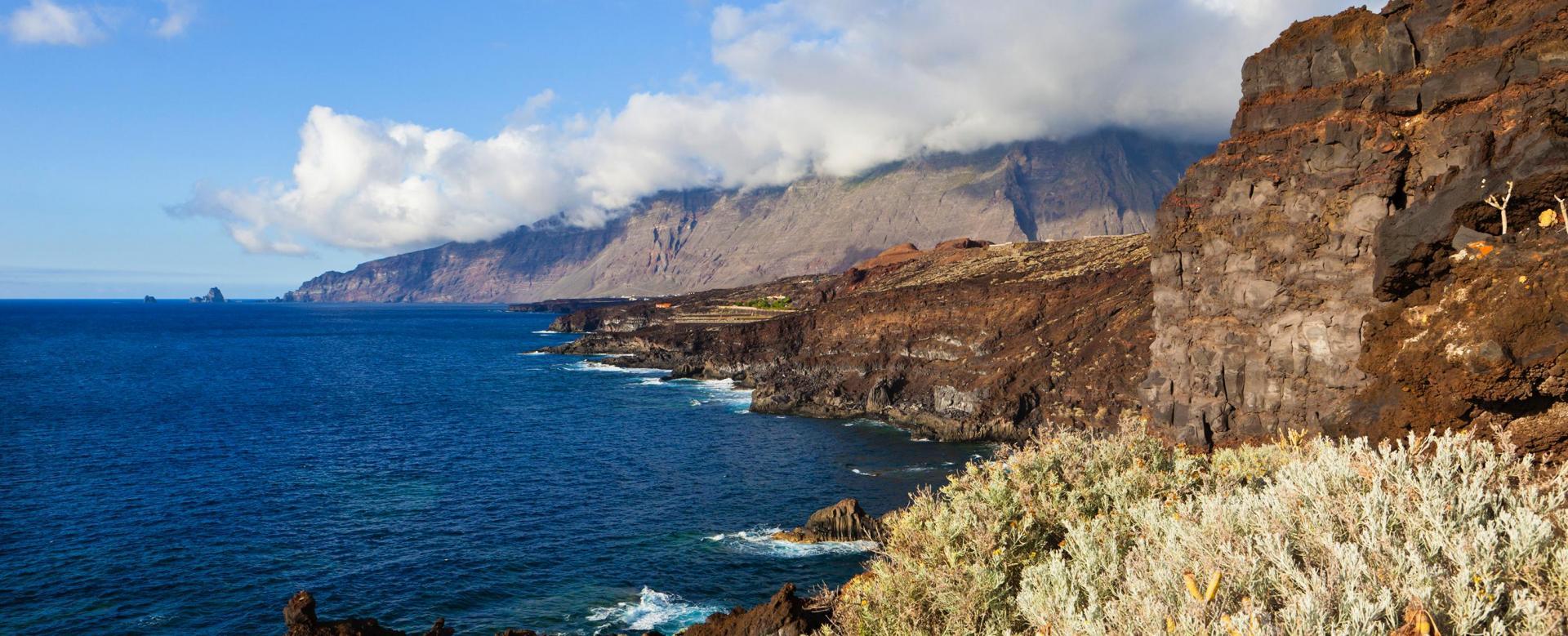 Voyage à pied Espagne : El hierro, île préservée