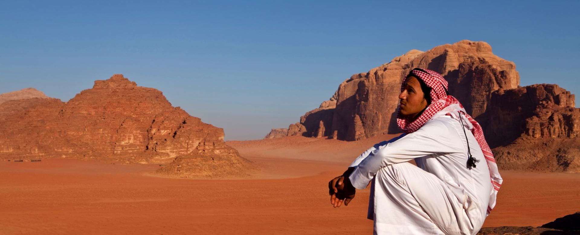 Voyage à pied : Cité rose, d\'sert rouge et wadis émeraude
