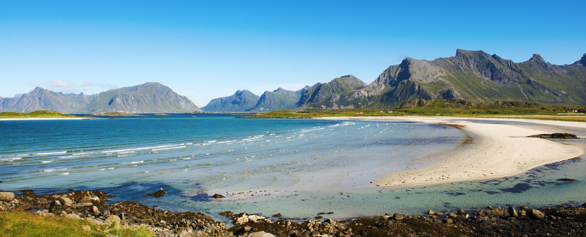 Voyage à pied Norvège : Grand tour des archipels du nord