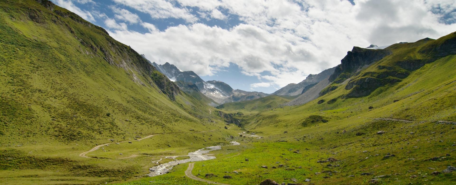 Voyage à pied : Le tour des glaciers de la vanoise