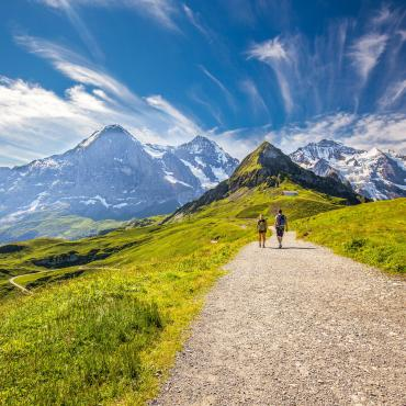 La traversée de l'Oberland