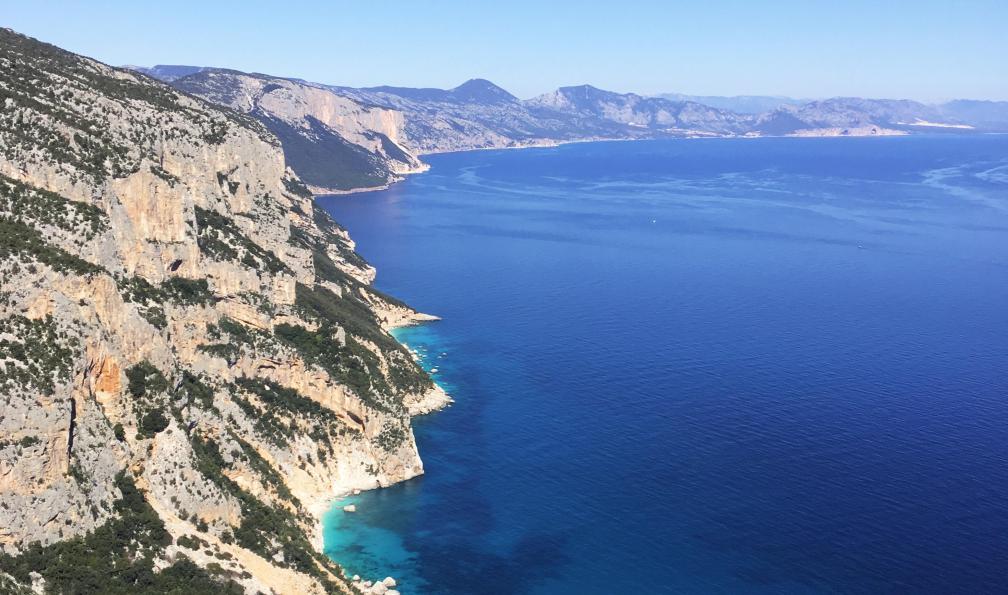 Image Selvaggio blu et supramonte