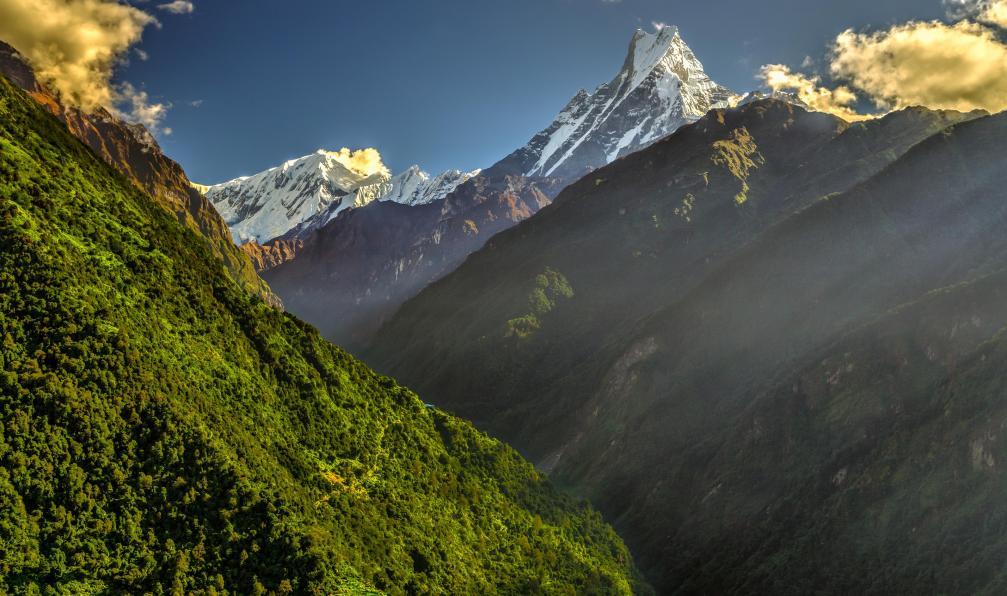 Image Trail au népal sur le balcon des annapurnas