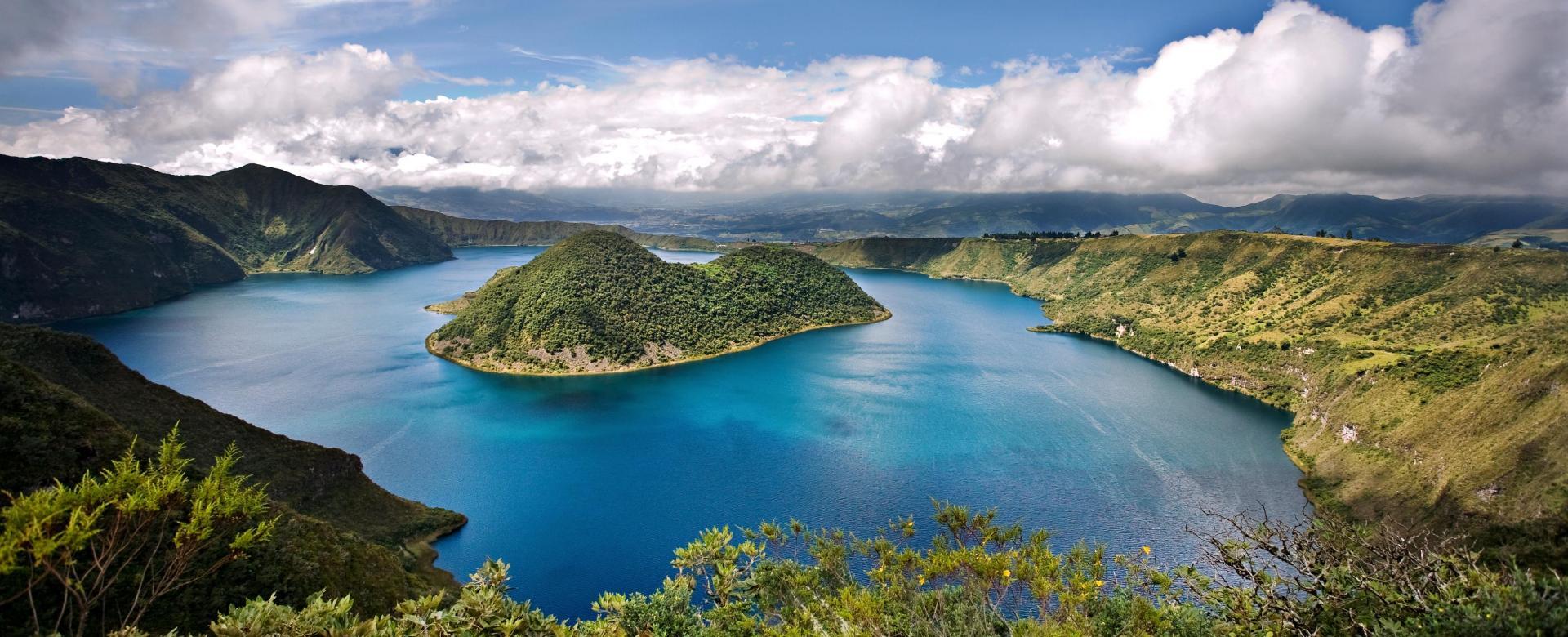 Voyage à pied Équateur : Randonnée au pied des géants