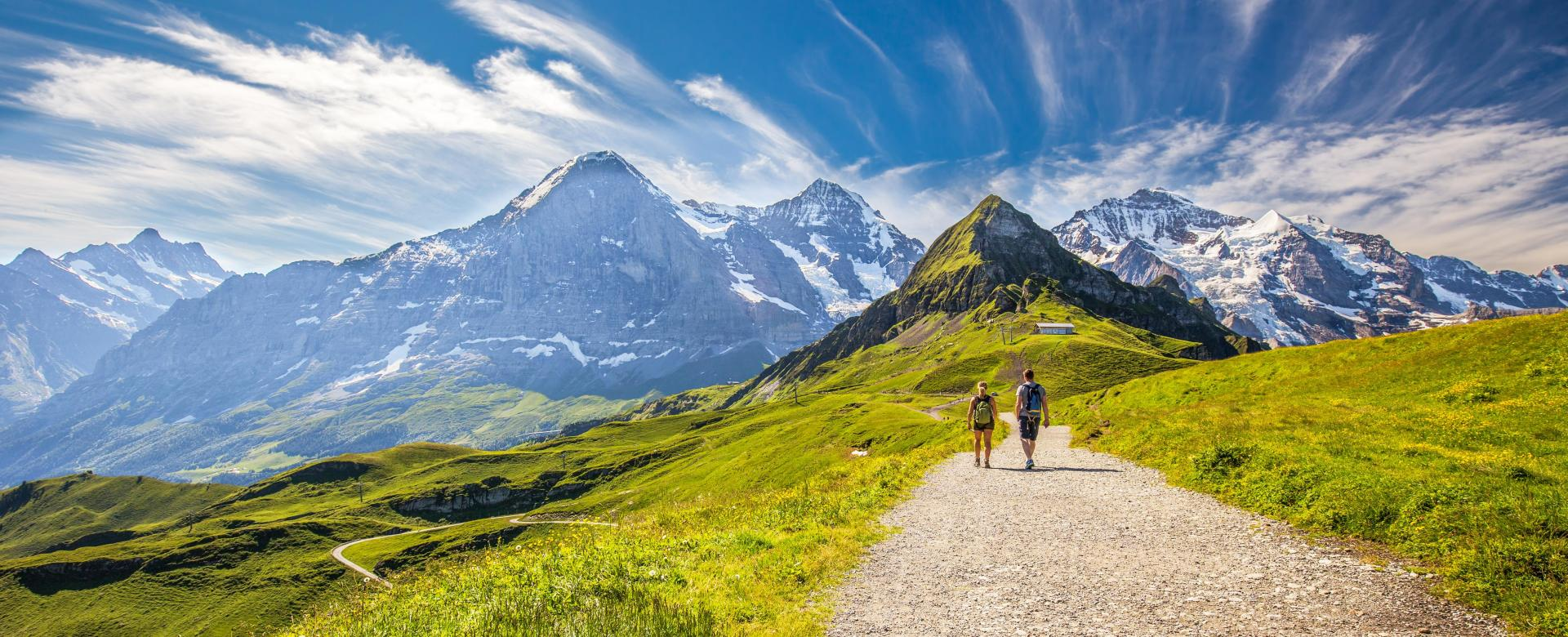 Voyage à pied : La traversée de l'oberland