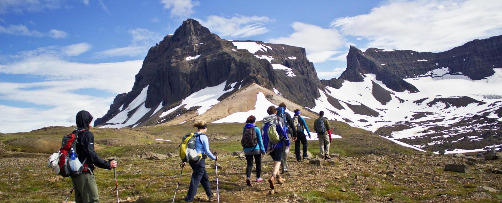 Voyage à pied : Trek dans les fjords de l'est