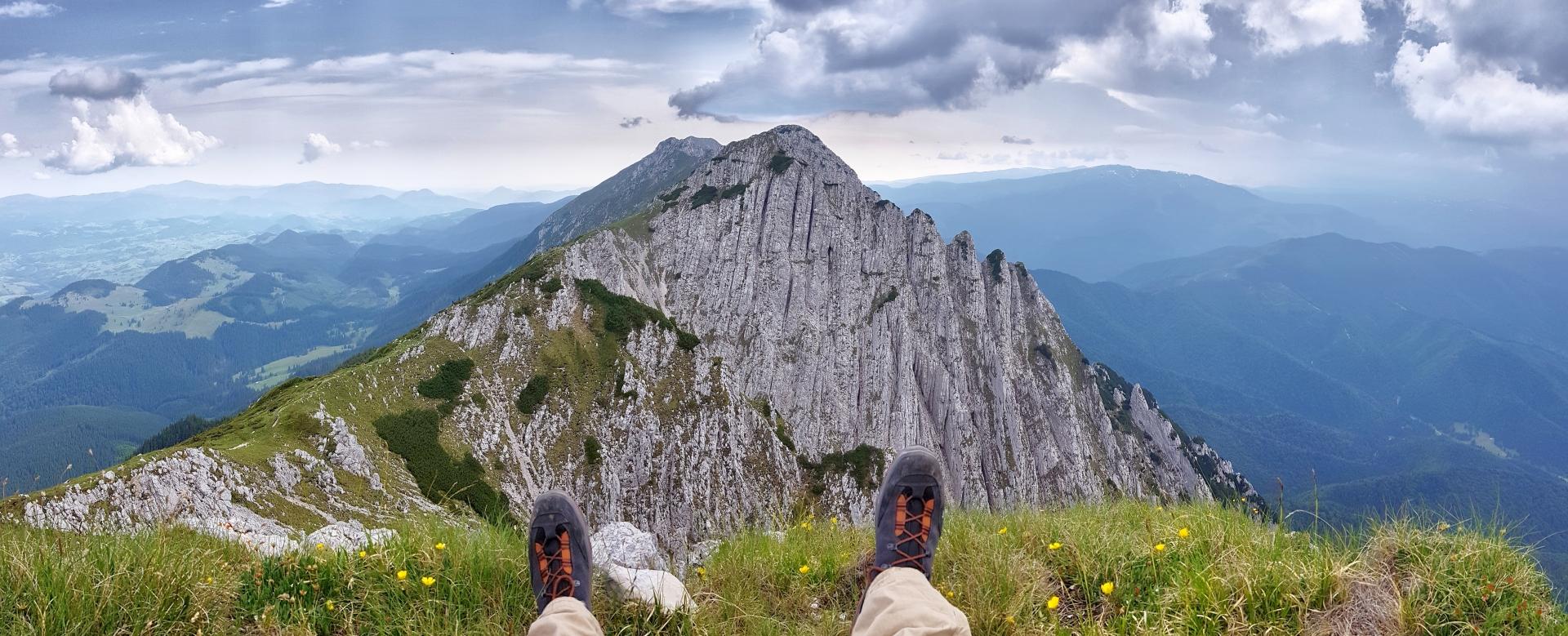 Voyage à pied : Roumanie : transylvanie et carpates
