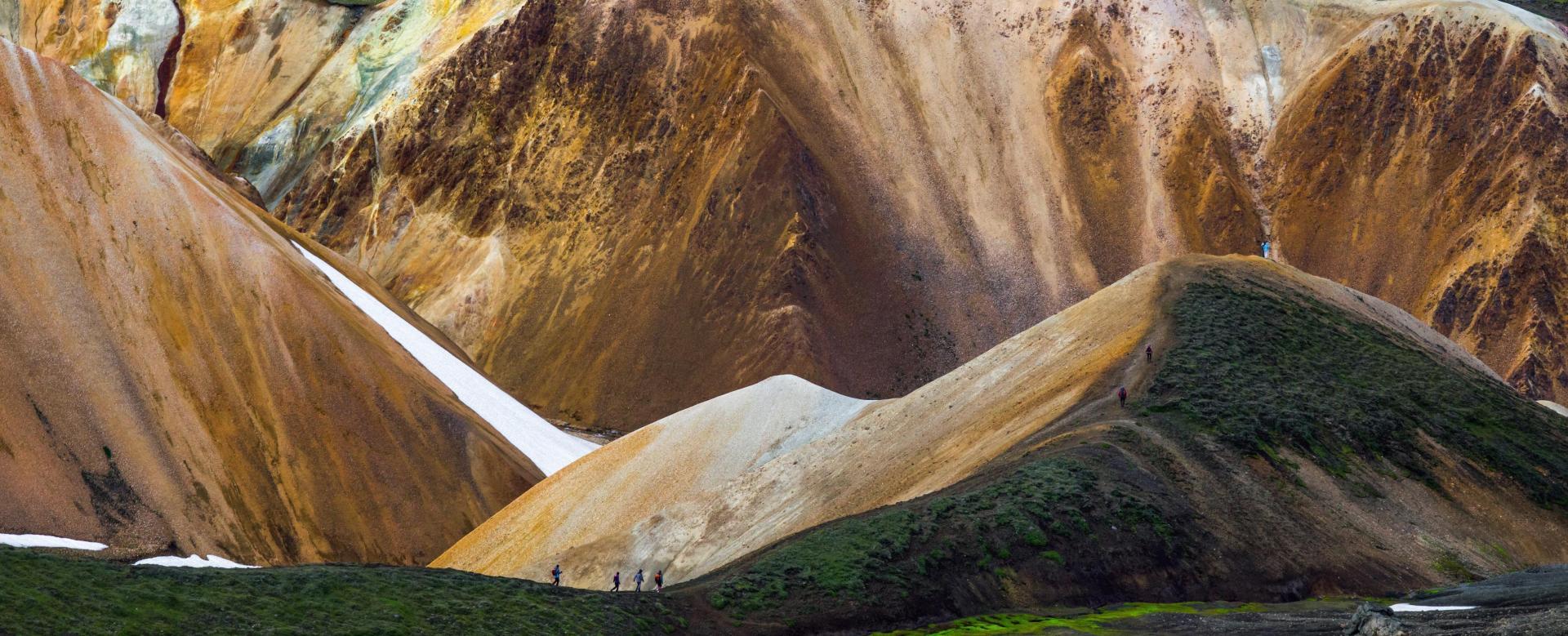 Trekking Islande : Volcans et glaciers