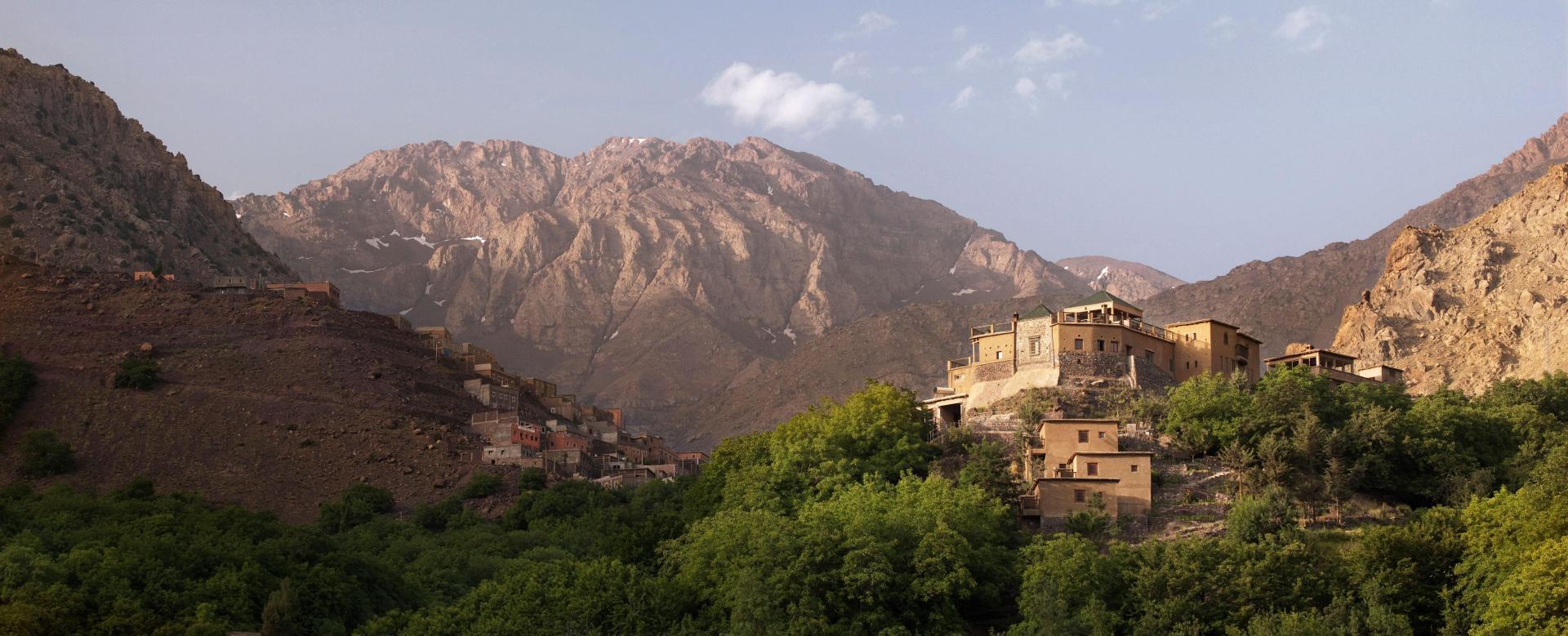 Voyage à pied Maroc : Géant de l'atlas et océan