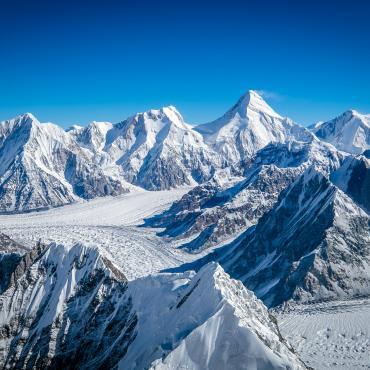 Trek des glaciers du Khan Tengri (7010 m)