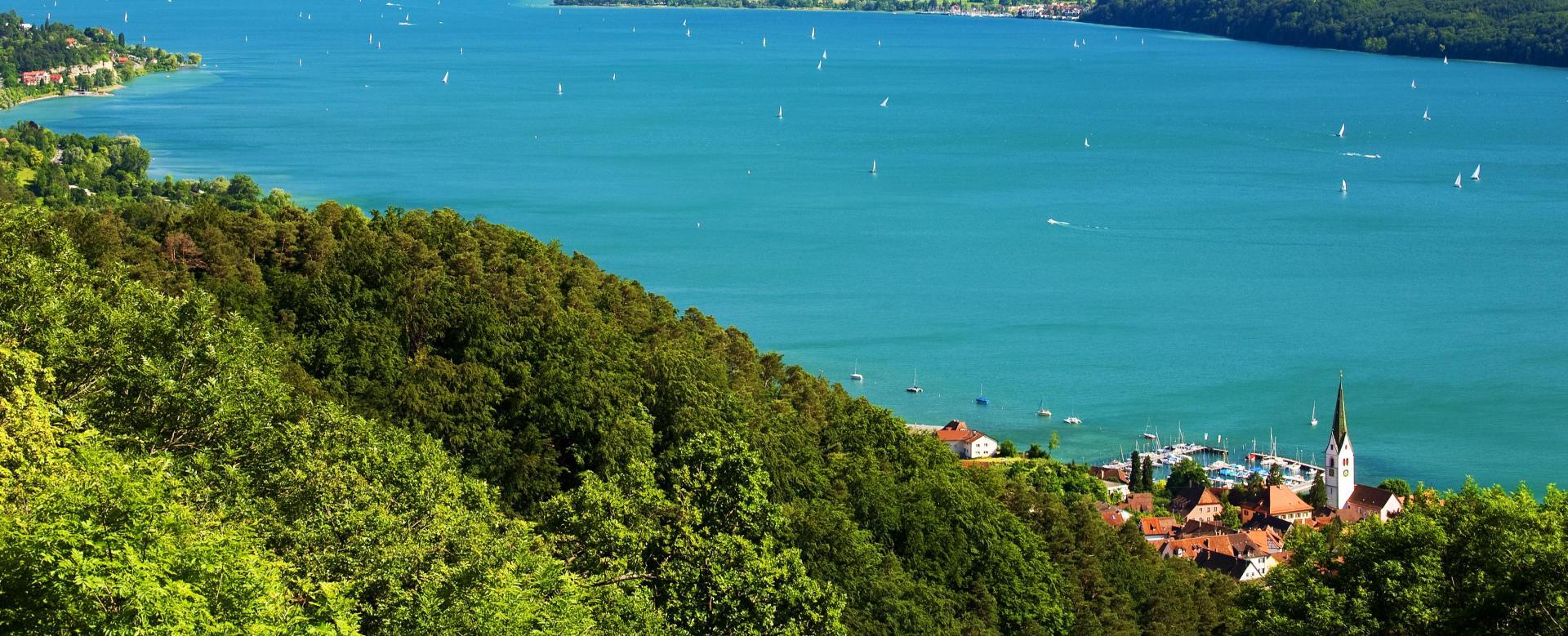 Voyage à pied : Le tour du lac de constance à vélo