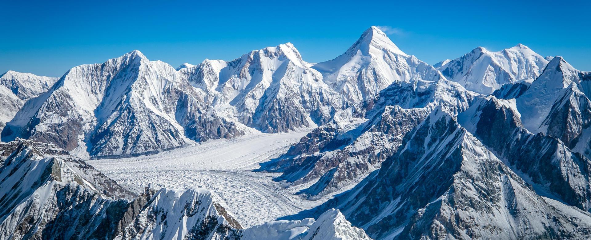 Voyage à pied : Trek des glaciers du khan tengri (7010 m)