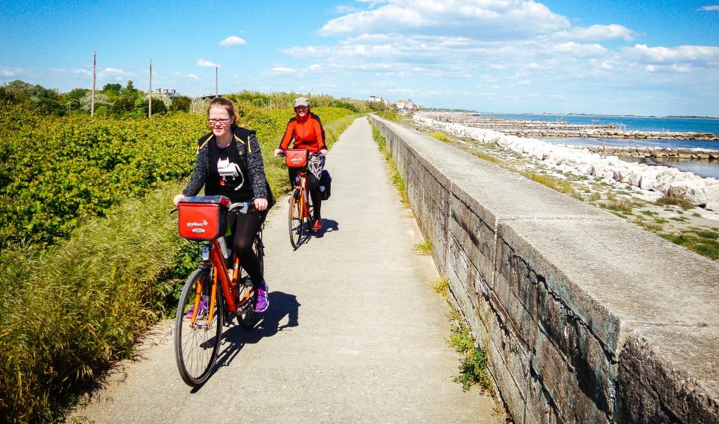 Image Autour de venise à vélo