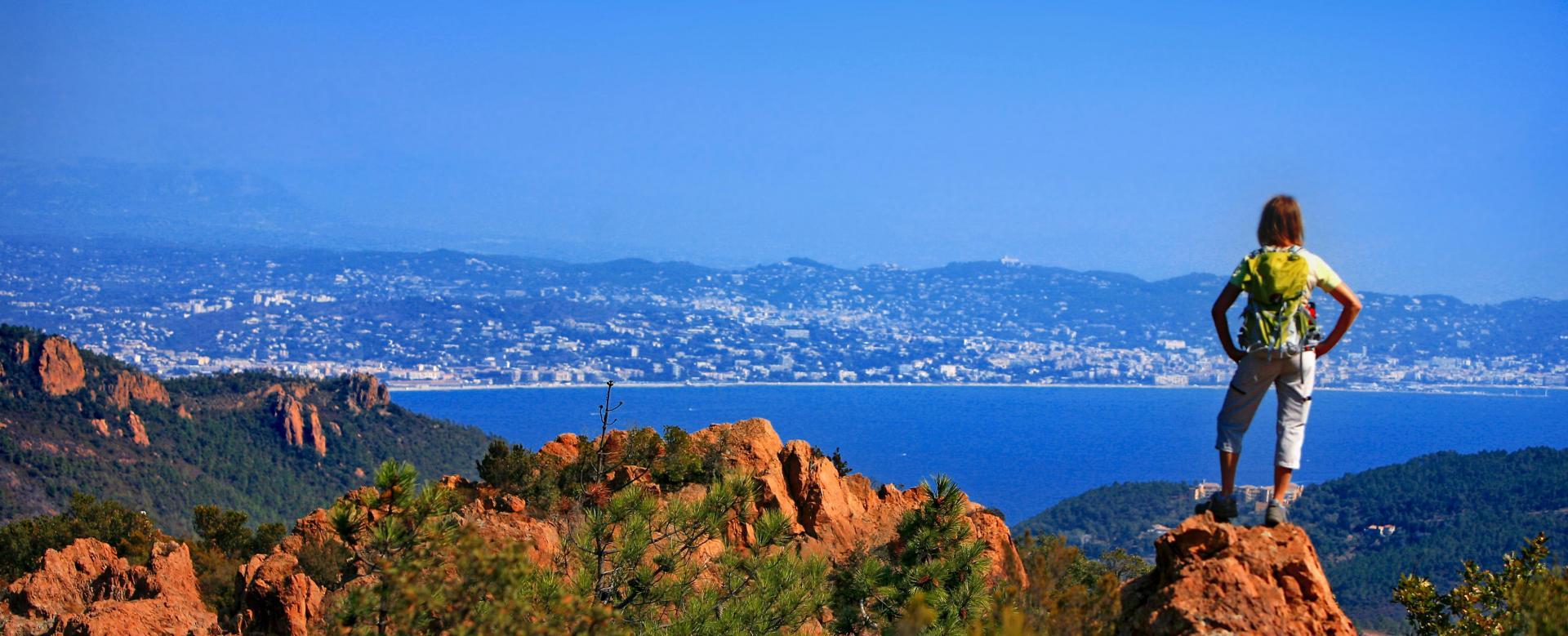 Voyage à pied : France : Les balcons d'azur : de menton à nice
