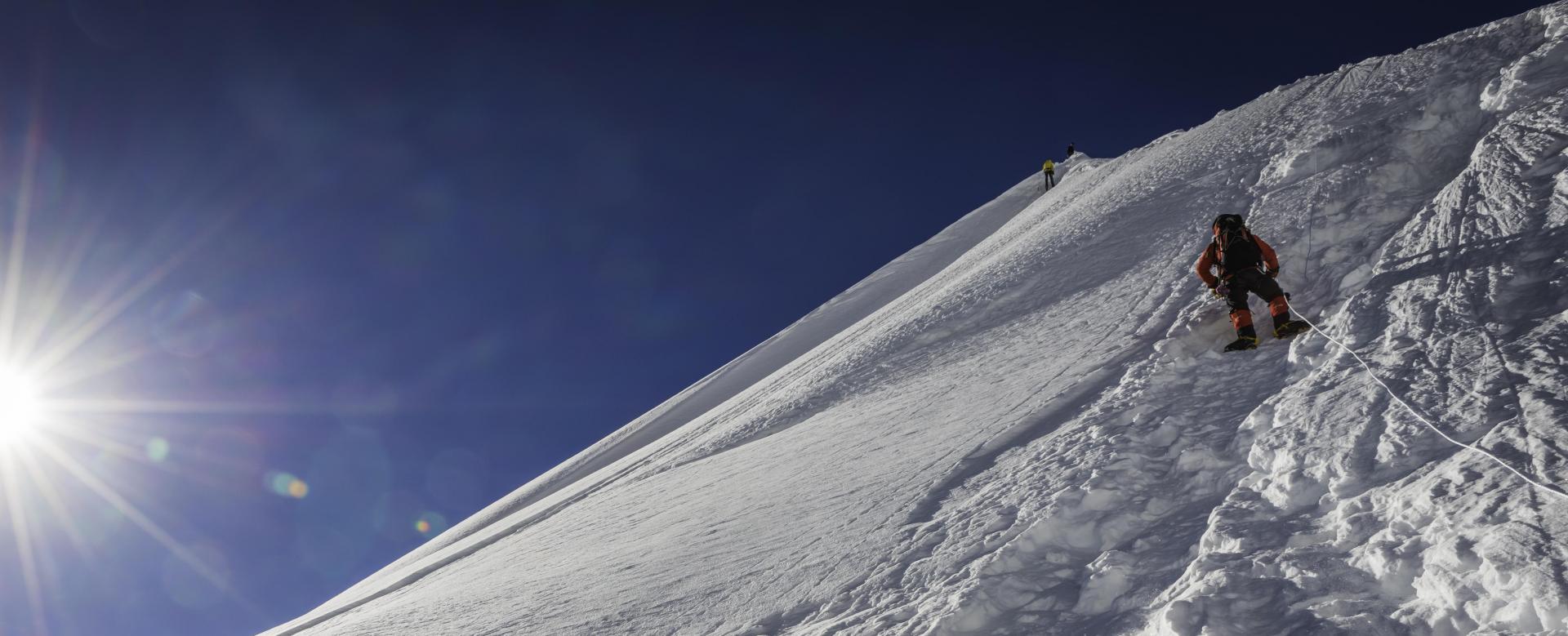 Voyage à pied Nepal : Himlung himal (7140 m)