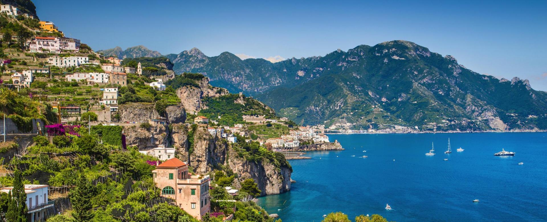 Voyage à pied Italie : Naples et pompéi, vestiges et volcans