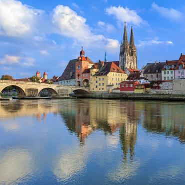 Le long du Danube bavarois à vélo