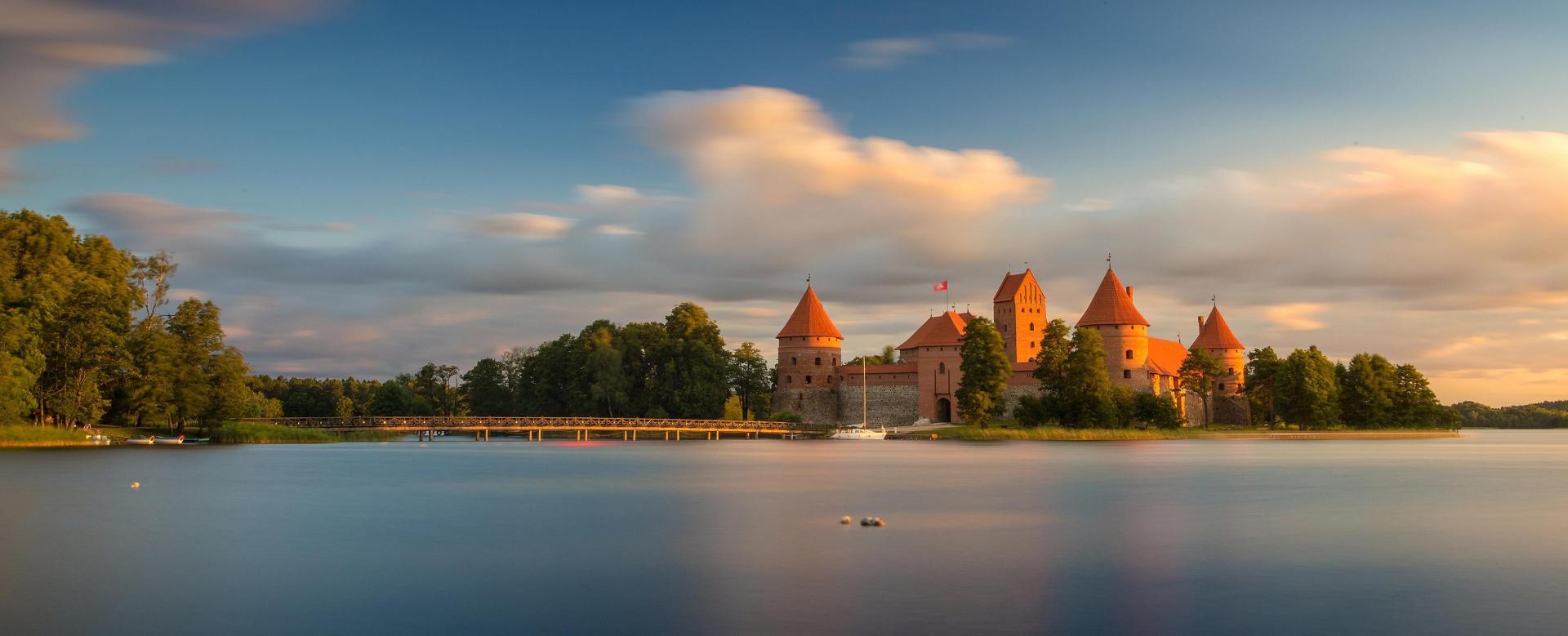 Voyage à pied : Pays baltes, joyaux de la baltique