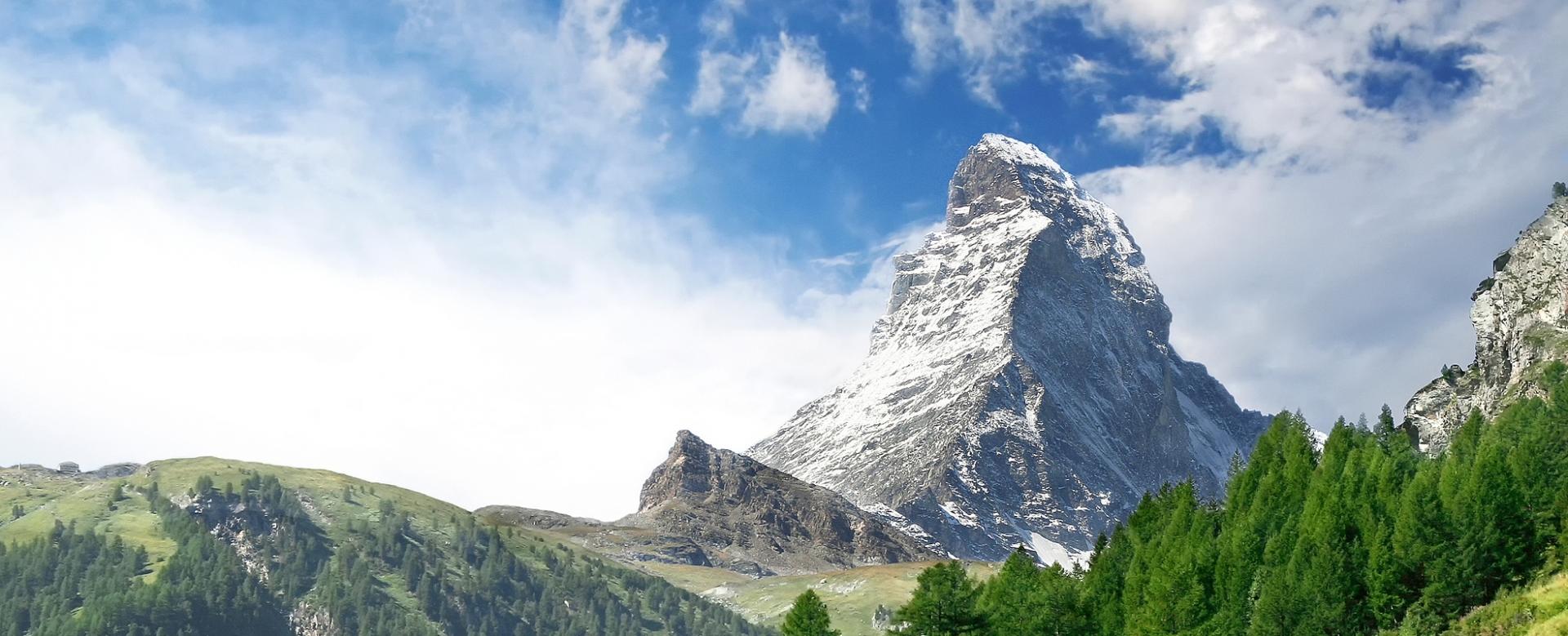 Voyage à pied : Sur les sentiers de chamonix à zermatt