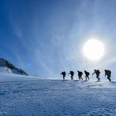 Les dômes glaciaires de Vanoise