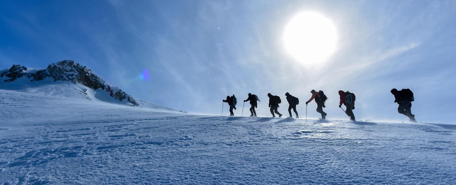 Voyage sur l'eau : Les dômes glaciaires de vanoise