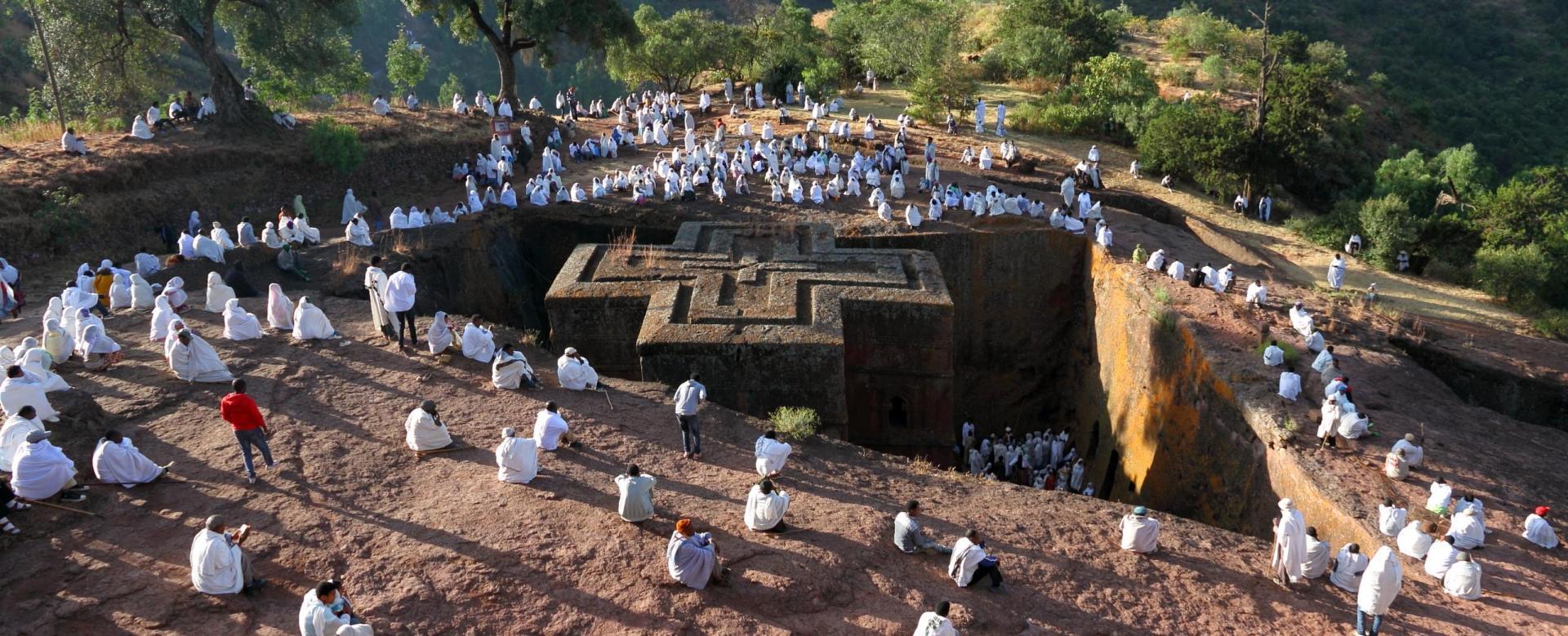 Voyage à pied Ethiopie : Special fête de timkat