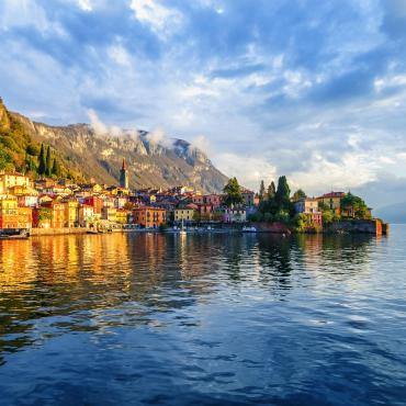 Grands lacs, îles et villas