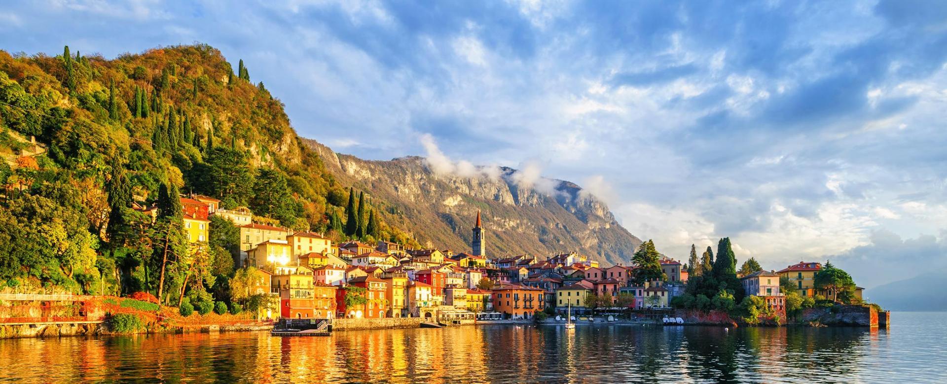 Voyage à pied Italie : Grands lacs, îles et villas