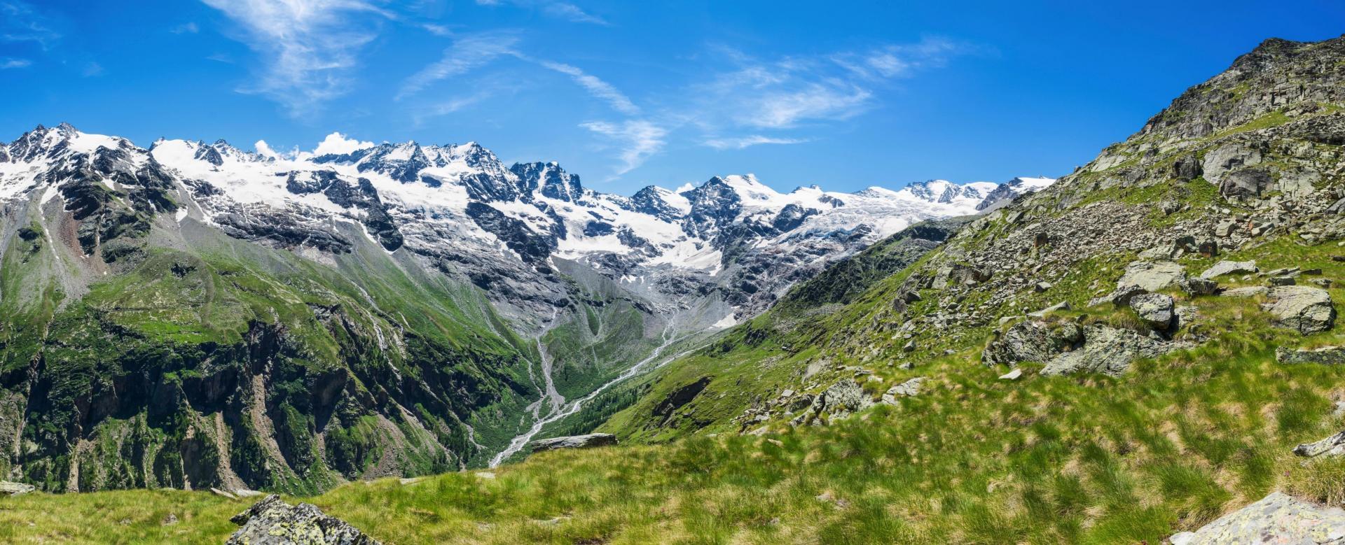 Voyage à pied : Alpes du Nord : Le tour du parc du grand-paradis