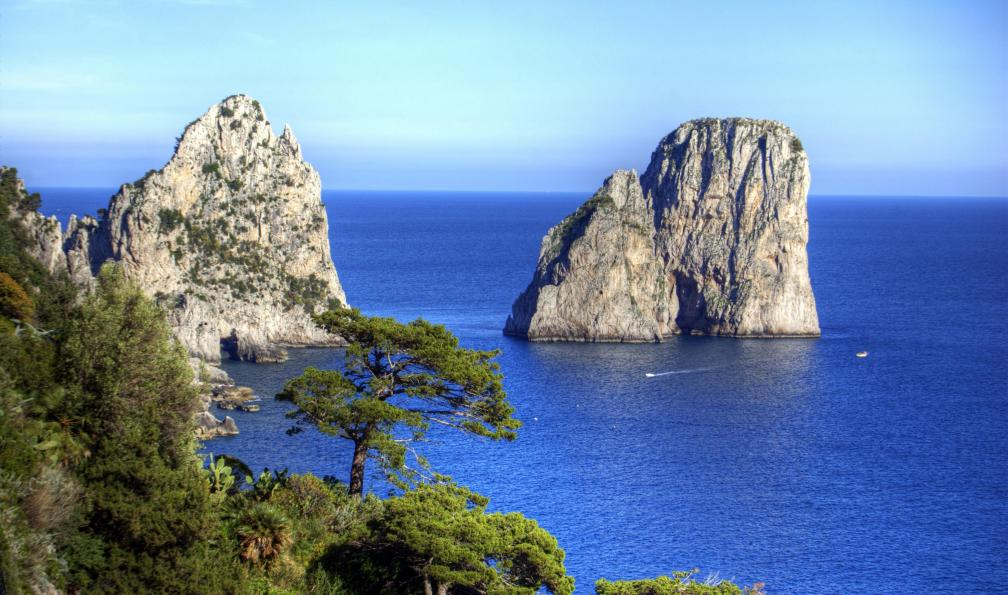 Image Des pentes du vésuve à la côte amalfitaine