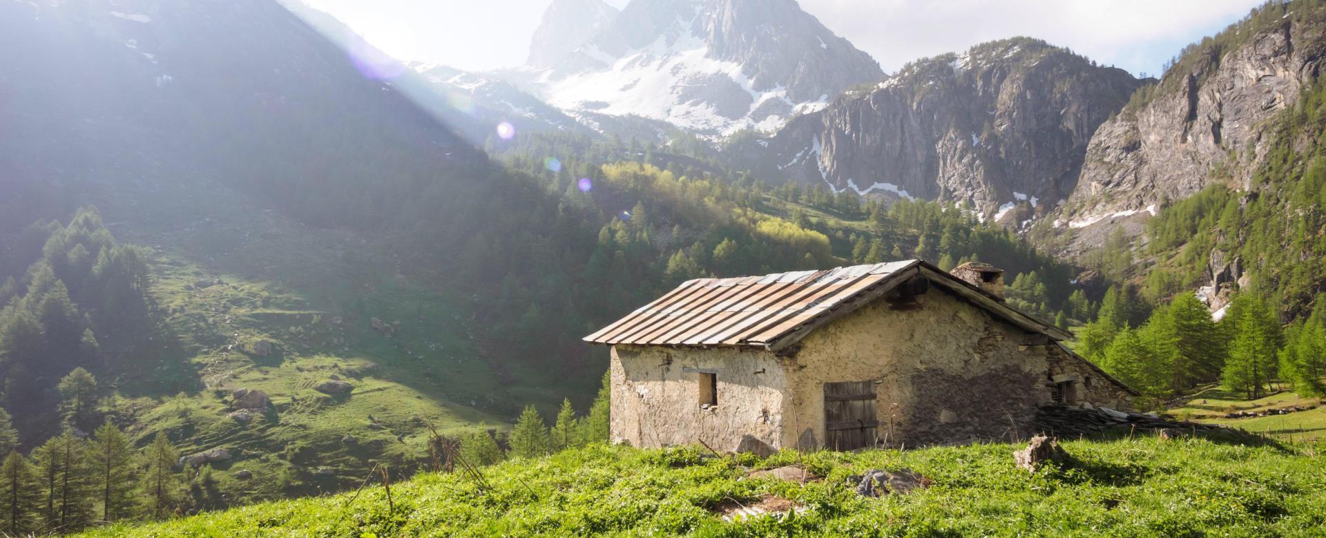Voyage à pied : Alpes italiennes du val maira